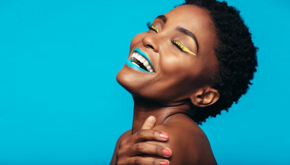 SMINK DEG GLAD: Sesongens fargetrender er ment å gjøre oss gladere! FOTO: NTB