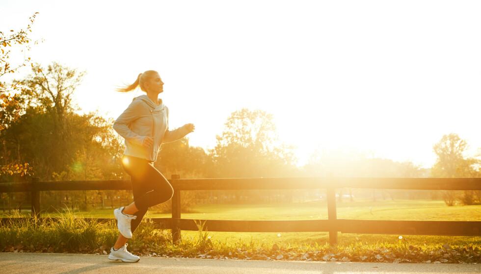 VARIASJON: All aktivitet er bedre enn ingenting. Og husk å varier treningen. FOTO: NTB