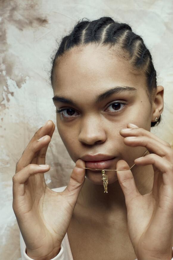 GUDINNE: Venus er inspirasjonen bak Hasla sin nyeste smykkekolleksjon ved samme navn.
