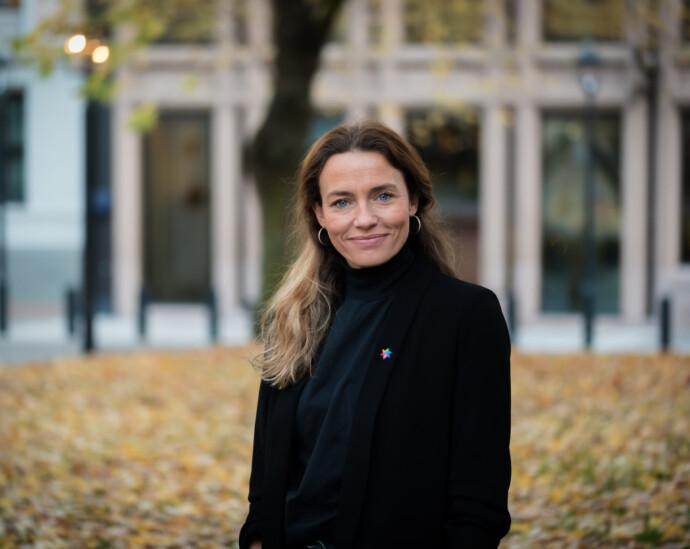 KAMP MOT KREFT: Generalsekretær Ingrid Stenstadvold Ross i Kreftforeningen sier det nytter å sjekke seg, FOTO: Jorunn Valle Nilsen