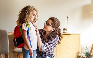 Kjære førskoleforeldre, dette trenger dere ikke stresse med før skolestart