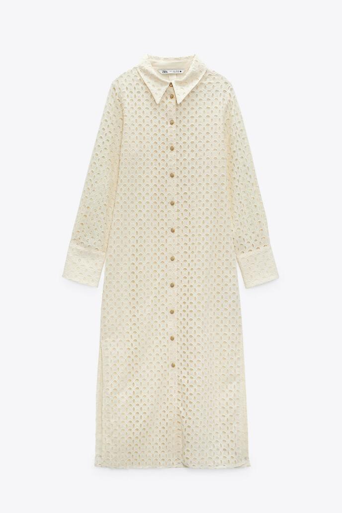 Skjortekjole (kr 600, Zara).