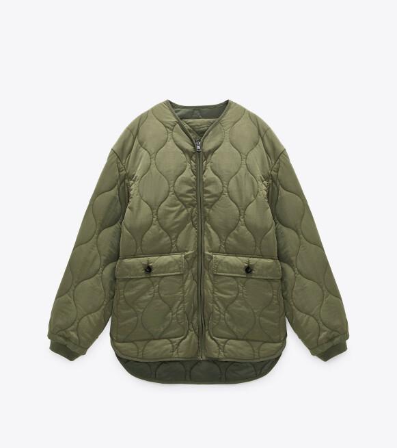 Jakke (kr 600, Zara).