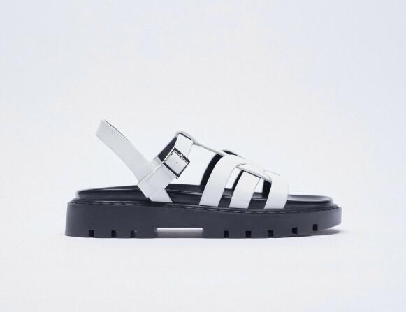 Sandaler (kr 800, Zara).