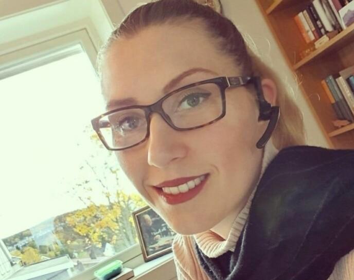 STÅR FREM: Victoria Stein forteller nå offentligheten om sin opplevelse med Kopseng. Foto: Privat