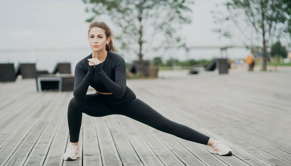 TABATA: Effektiv trening du kan gjøre hvor og når som helst! FOTO: NTB