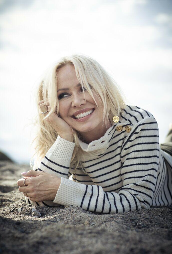 MESTRING: Linda Johansen er mest fornøyd når hun får til ting: – Jeg er veldig styrt av det jeg holder på med. Jeg elsker livet mitt nå. FOTO: Astrid Waller