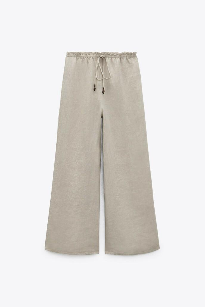 Vid bukse (kr 450, Zara)