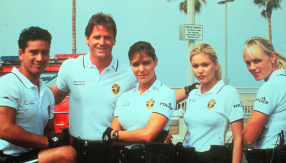 PACIFIC BLUE: Politiserien fra Santa Monica gikk lenge på TV-skjermen. FOTO: Pacific Blue/ TV2