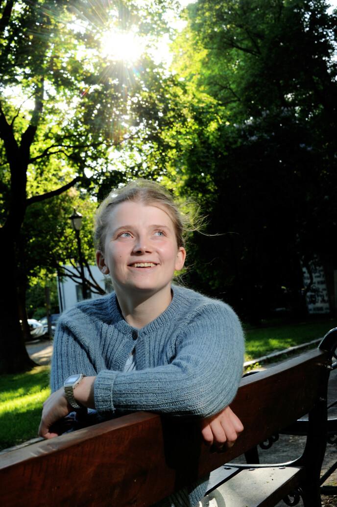 - Det er viktig for meg å være Amanda, ikke «hun med kreften». FOTO: Marianne Otterdahl-Jensen
