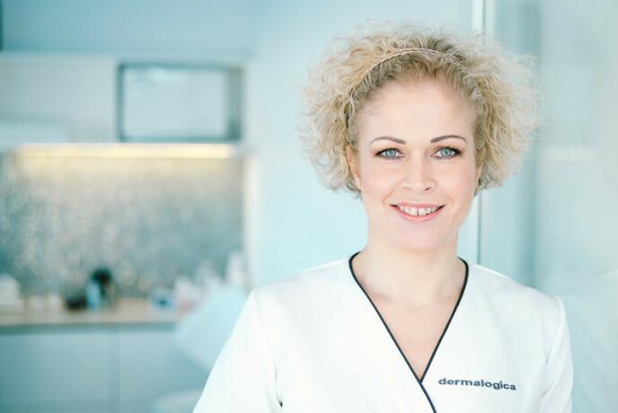 MUNNBIND-UTFORDRINGER: Alle kan få 'maskne', forklarer Ann Kristin Stokke fra Skintific. Foto: Skintific