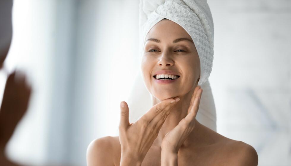 SALISYLSYRE: Stokke anbefaler å bruke produkter ment for huden istedenfor å spraye noe på munnbindet. Foto: NTB
