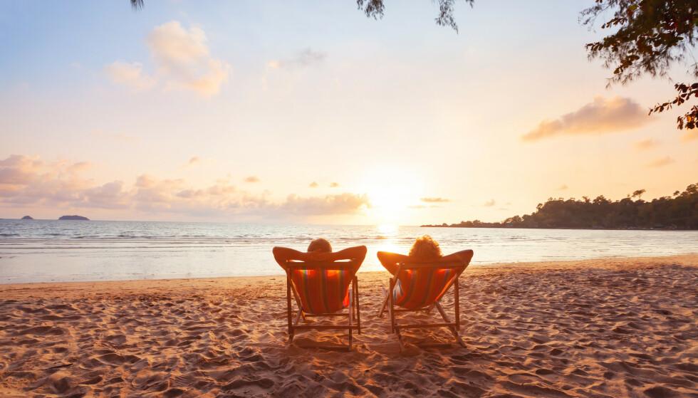 HYPPIGHET: Det er faktisk viktig å ta seg ferie ofte! Foto: NTB
