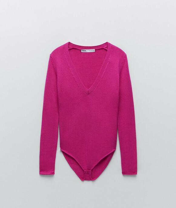 Body med lange ermer (kr 330, Zara).