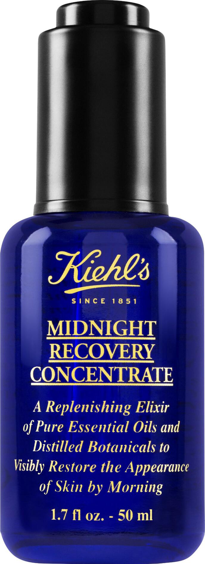 Midnight Recovery, 30 ml (kr 390, Kiehls). FOTO: Produsenten