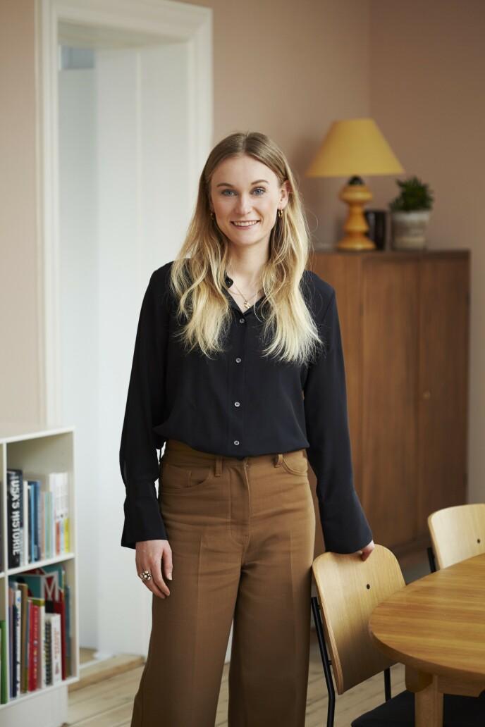 Den første gangen Caroline Ryttersgaard gikk innenfor døren i det gamle huset, fikk hun følelsen av å ha kommet hjem.