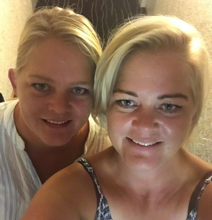 POPULÆRE: Etter TV-debuten har tvillingsøstrene Trine og Trude fått tilsendt mange frierbrev. FOTO: Privat