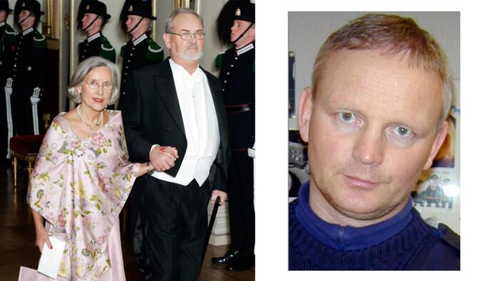 STEBROR: Trond Berntsen var sønn av Rolf Berntsen, som var gift med kronprinsesse Mette-Marits mor. FOTO: NTB