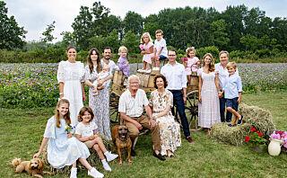 Det svenske kongehuset overrasker på nytt bilde
