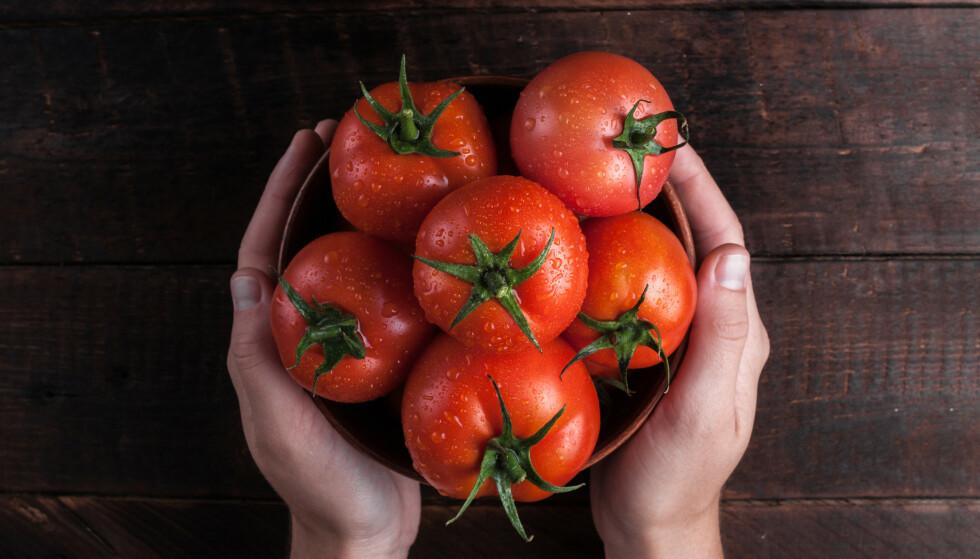 TOMATER: En hel verden elsker tomater - og med god grunn. Foto: NTB