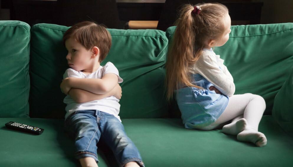 KRANGLER ULIKT: Det vil alltid være store individuelle forskjeller, og ett barn vil håndterer konflikter annerledes enn et annet. Det er også store forskjeller mellom jenter og gutter.