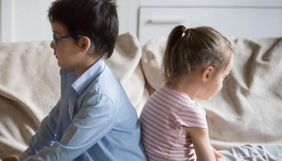 IKKE OVERBESKYTT DE MINSTE: Ikke overbeskytt det yngste barnet, det kan godt være den yngste som startet konflikten.