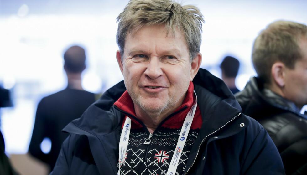 STØTTER KVINNENE: Håndballpresident Kåre Geir Lio sier til NRK at Norges Håndballforbund er klare på at de selv ønsker å betale boten. Her fra 2019. FOTO: Vidar Ruud / NTB
