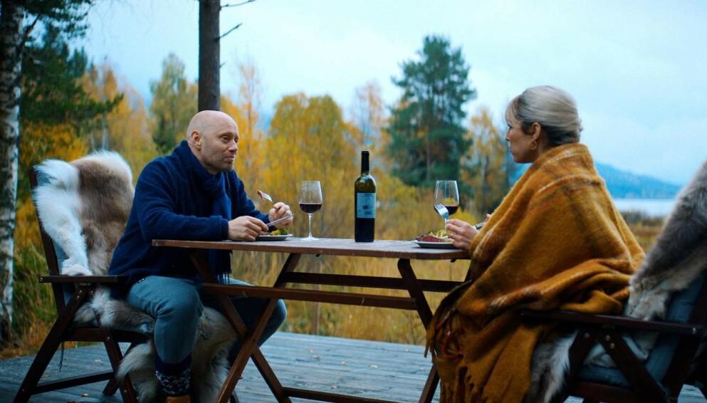 I ONDE DAGER: Den norske skuespilleren Aksel Hennie spiller mot svenske Noomi Rapace i Tommy Wirkola-filmen I onde dager. FOTO: SF Studios