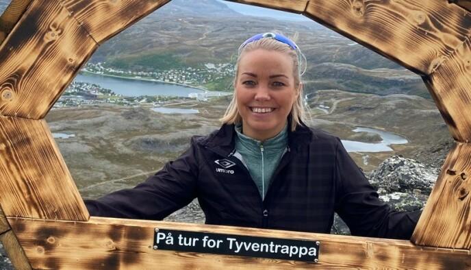 FJELLTURER: Det er sjelden Mona går i fjellet, selv om hun ønsker det. Foto: Privat