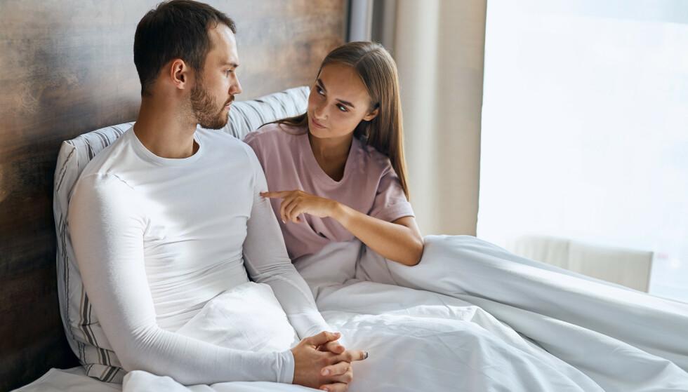 FORSKJELL PÅ PORNO OG VIRKELIGHET: - Porno er ofte rett på sak og penetrering med én gang, mens mange kvinner foretrekker sex som er langsommere og mer sensitiv. FOTO: NTB
