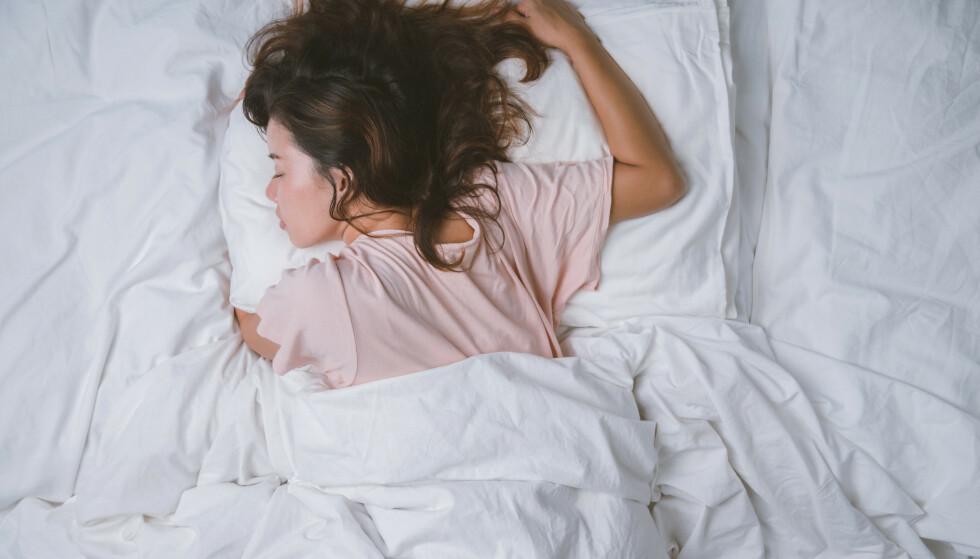 SOV SOM EN BABY: Det finnes heldigvis mange råd som kan hjelpe deg med å sove bedre.
