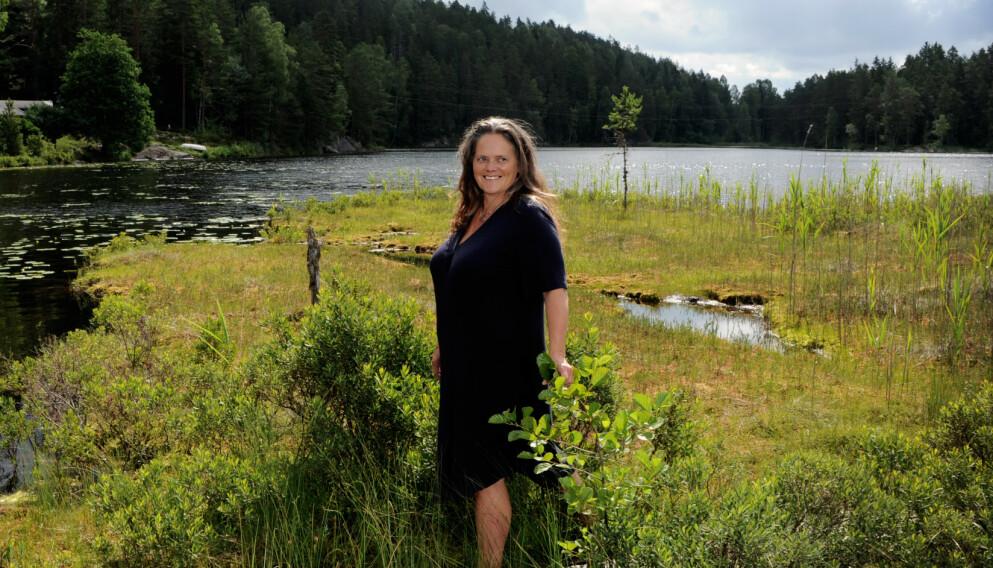 HAMSTERHJULET: Nina jobbet som journalist i NRK i mange år, med tette deadlines og mye stress. Så kom vendepunktet. Foto: Marianne Otterdahl-Jensen
