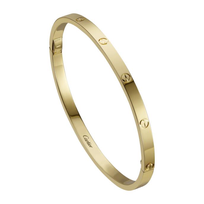 Jeg drømmer om et Love- armbånd (ca. kr 46 600, Cartier).