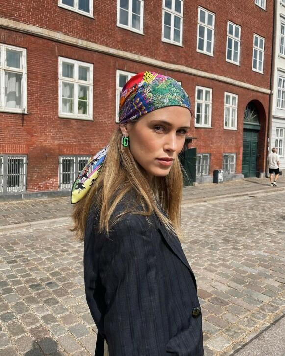 INFLUENSER: Annabel Rosendahl var på plass under moteuka i København. FOTO: INSTAGRAM @ANNABELROSENDAHL