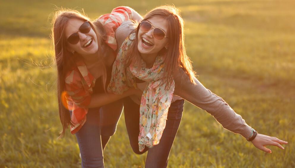 LENGE LEVE LATTEREN: Kan en god latter virkelig forlenge livet, eller er det bare et uttrykk? FOTO: NTB