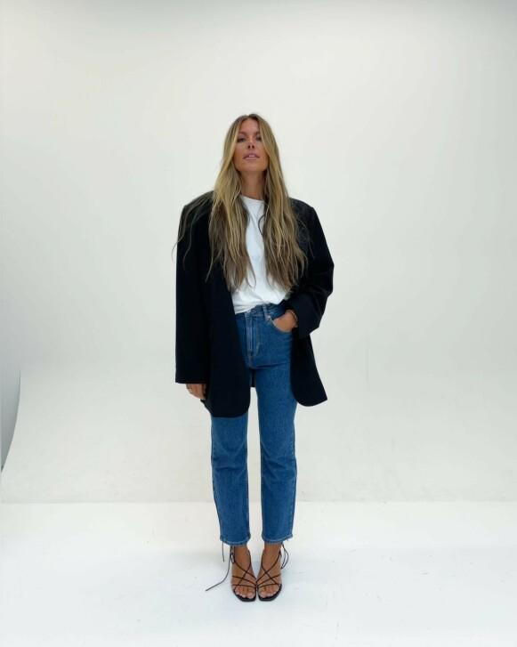STOLT: Concept Manager i Bik Bok, Julie Varner, sier det føles godt å bevege seg ut av en rar tid med et nytt Never Denim. FOTO: PRIVAT