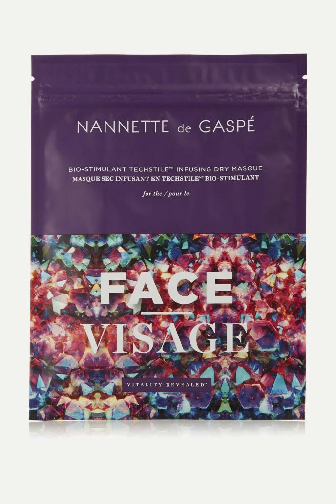 Ansiktsmaske (kr 1295, Nannette de Gaspé, Vitality Revealed fra Parfymeri.no).