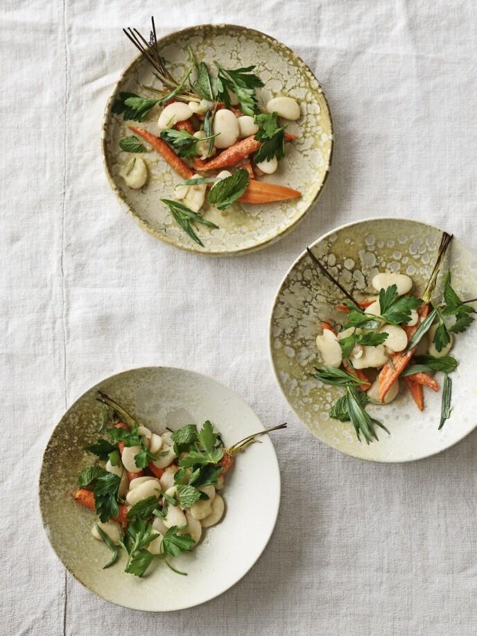 Saltsyltet sitron kan du lage selv ved å la sitroner trekke i salt og sitronsaft i et sylteglass i en måneds tid. Bruk økologiske sitroner. Når de er saltsyltet, holder de seg minst et halvt år i kjøleskapet. FOTO: Mikkel Karstad