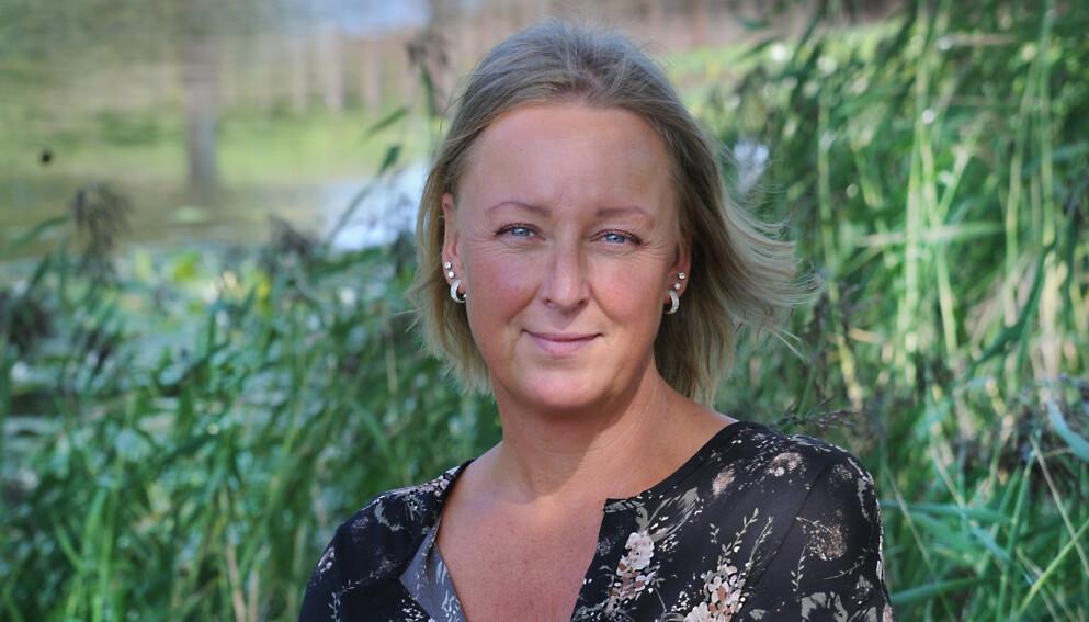 SKAMBELAGT: For 18 år siden, fødte Nina sin yngste sønn. Helt siden da, har hun slitt med hyppige urinlekkasjoner. Det gikk så langt at hun unngikk sosiale sammenkomster i frykt for å tisse på seg slik at andre kunne se det. Først i fjor, fikk hun hjelp. Foto: Marianne Otterdahl-Jensen