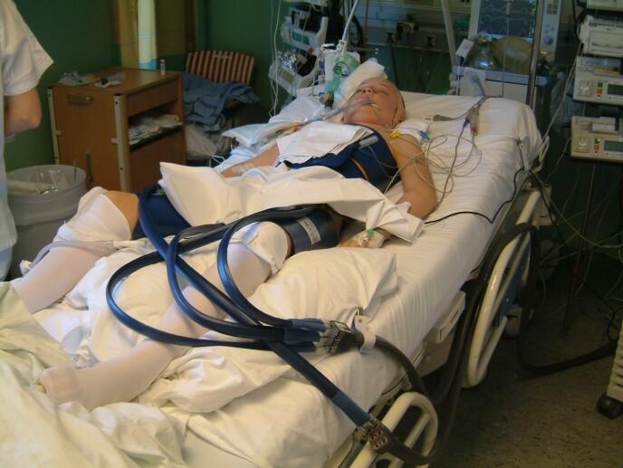 Camilla ble liggende i koma i over tre uker. FOTO: Privat