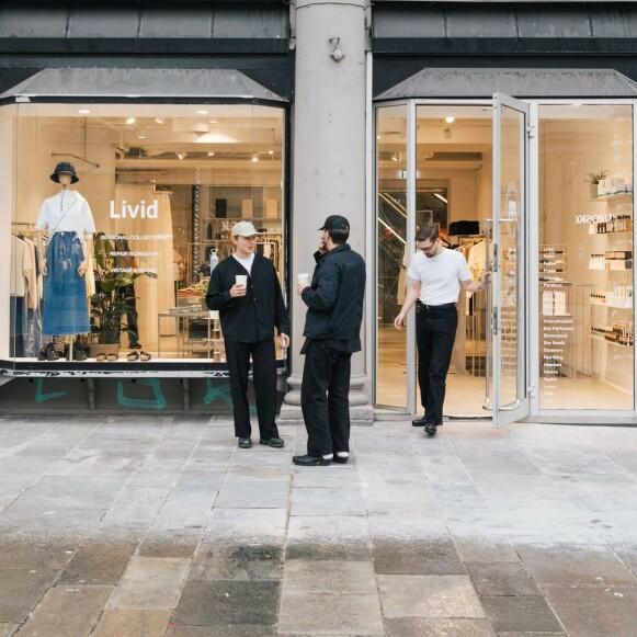 I VEKST: Livid har allerede flere fysiske butikker. – Vi føler at ryktene om den fysiske butikkens død er overdrevet, sier Jens Olav Dankertsen i Livid. FOTO: ALVIN SANTOS