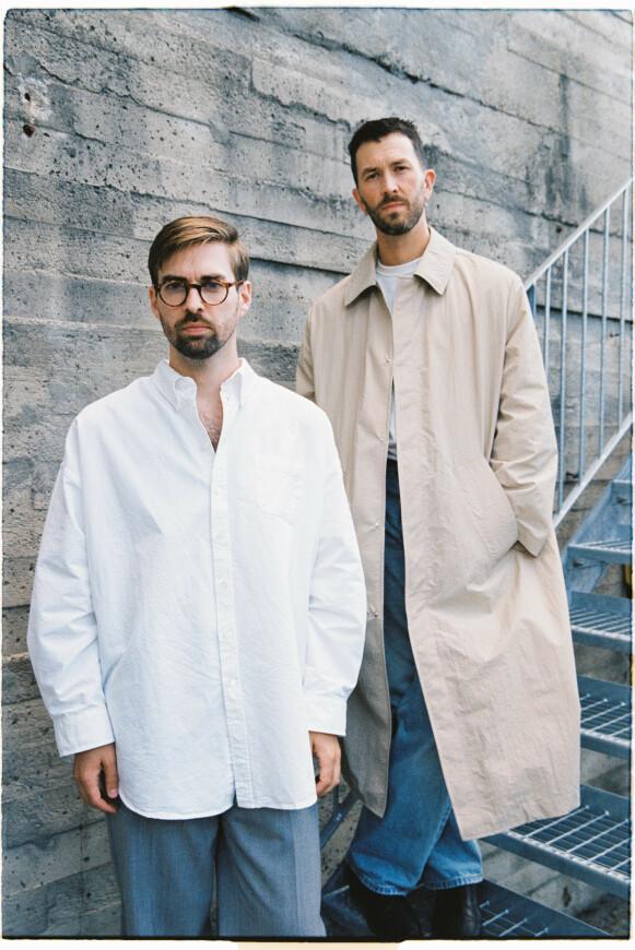NORSK MOTE: Ole Eivind Siggerud (t.v) og Jens Olav Dankertsen i Livid. FOTO: ALVIN SANTOS
