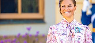 Kronprinsesse Victoria valgte norsk design