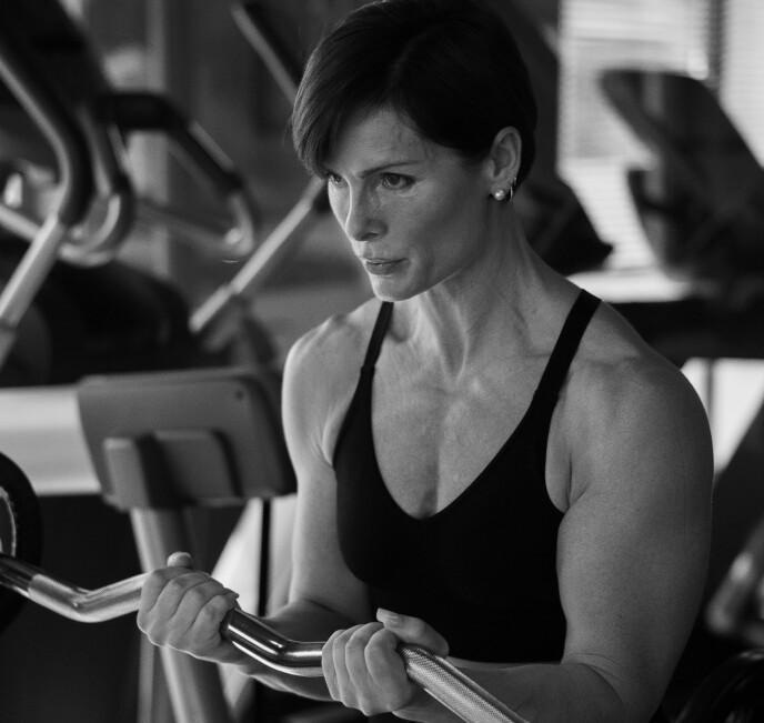 BLE FIT ETTER 40: Å trene jevnlig er ifølge Tollefsen viktigere enn å trene mye. FOTO: Jona Helgen