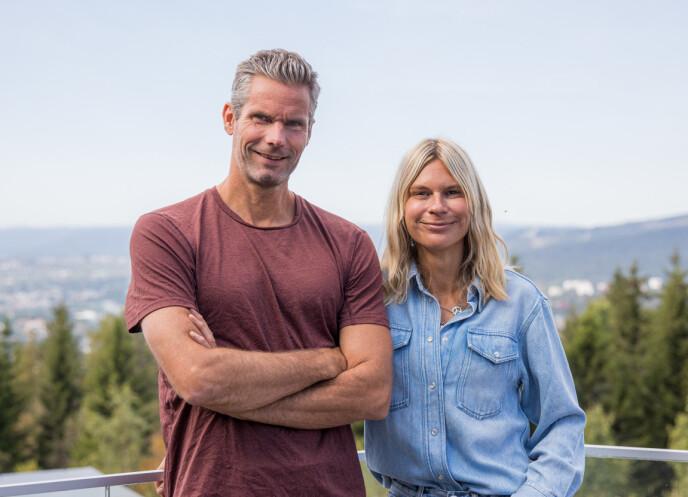 TEAM: Thomas Alsgaard og Elisa Røtterud er partnere i den aller første sesongen av 71° nord - team. FOTO: Haakon Lundkvist