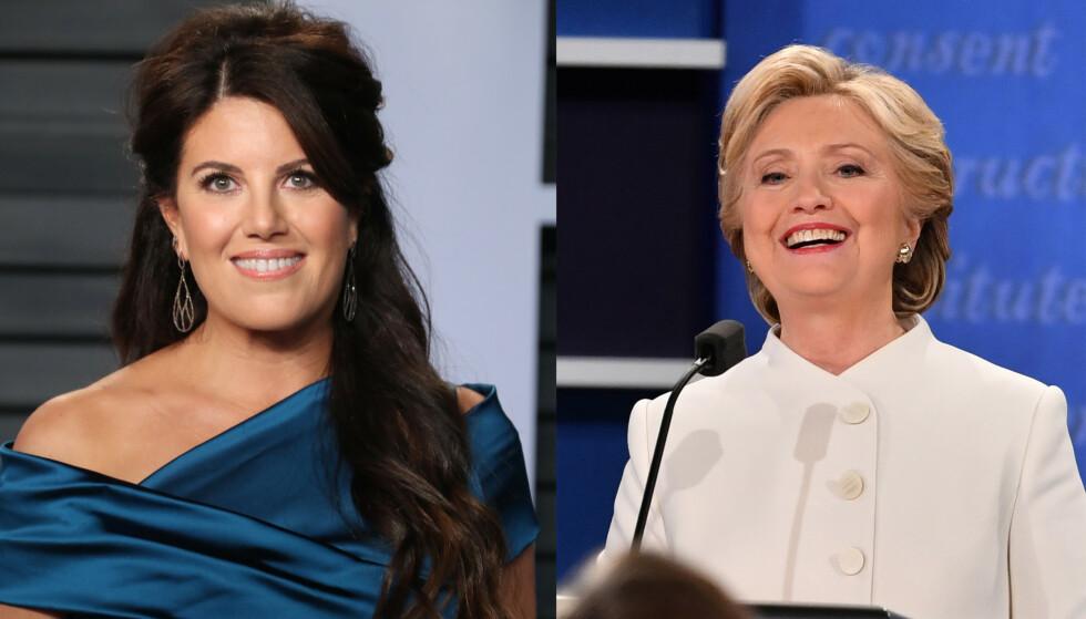 TAR STYRINGA: Det er lenge siden Monica Lewinsky var «den kvinnen». I dag har hun laget TV-serie om forholdet til Clinton-paret. FOTO: NTB
