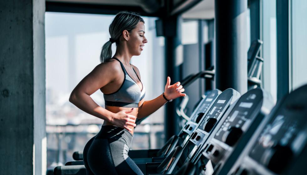 TRENING OG VAKSINE: Mange har kommet tilbake til gode treningsrutiner igjen, men koronavaksinen kan sørge for at du må holde deg i ro noen dager. Foto: NTB Scanpix
