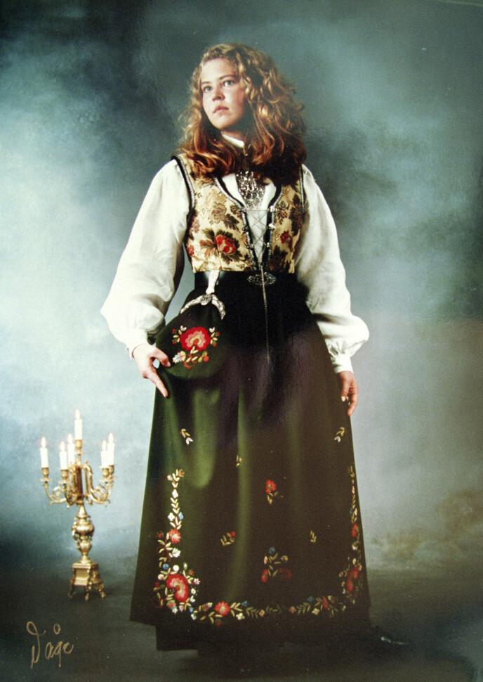 IKONISK: Konfirmasjonsbilde av Birgitte Tengs er noe mange husker fra den grusomme saken. FOTO: Våge studio / NTB