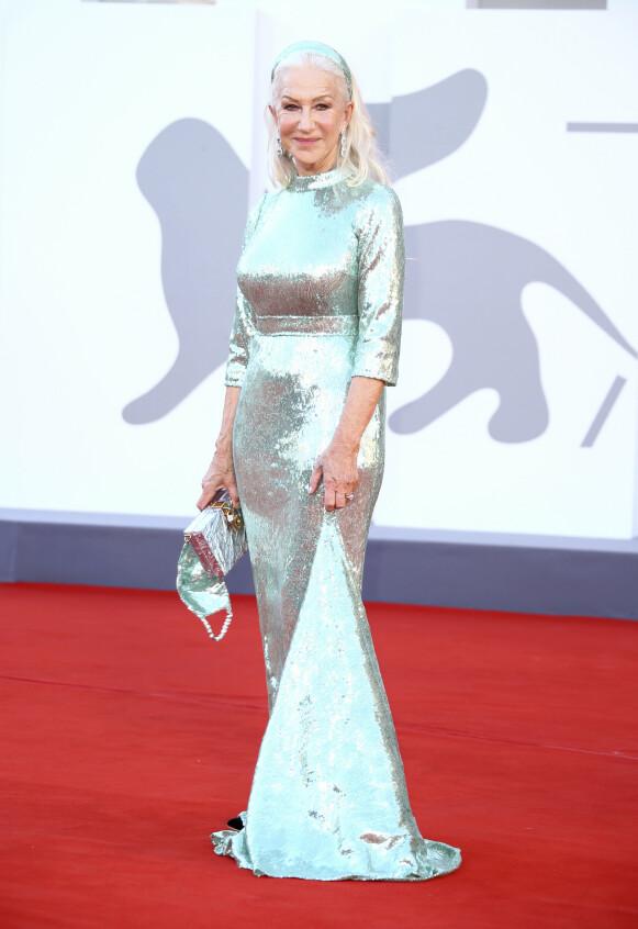 Helen Mirren i Dolce & Gabbana. FOTO: NTB
