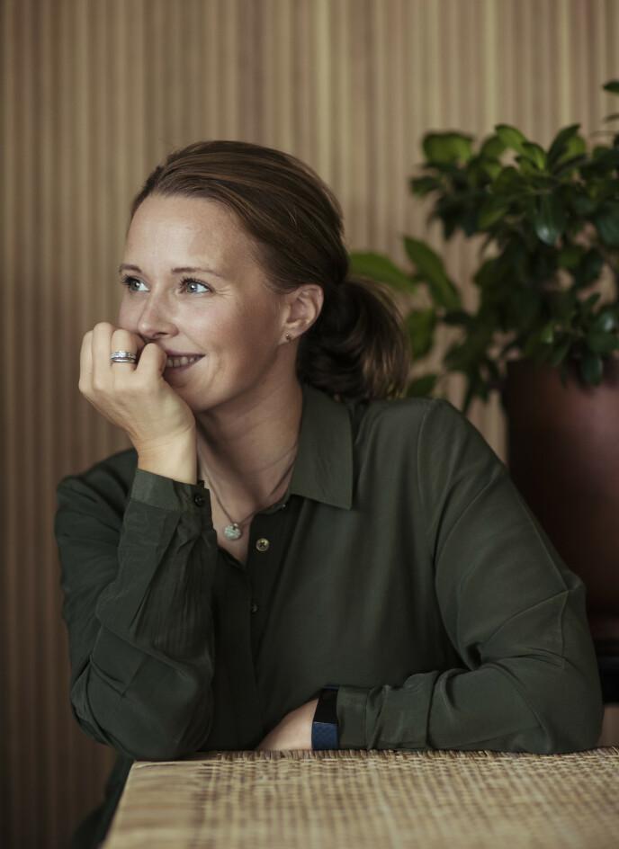 PRIORITERINGER: Kaja har måttet endre prioriteringene sine etter kreftsykdommen. Foto: Astrid Waller